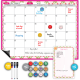Magnetic Dry Erase Calendar For Fridge, With Freebies