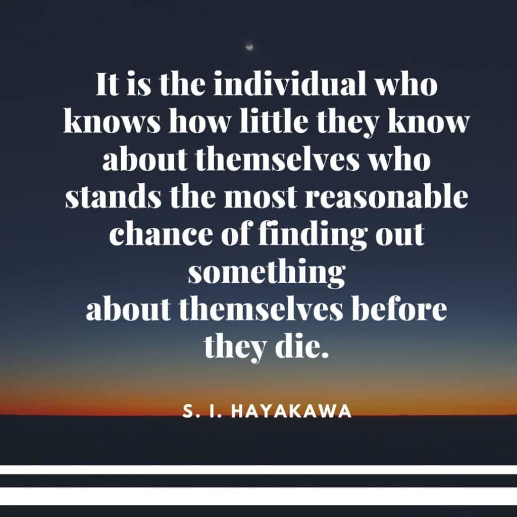 quotes about knowing yourself