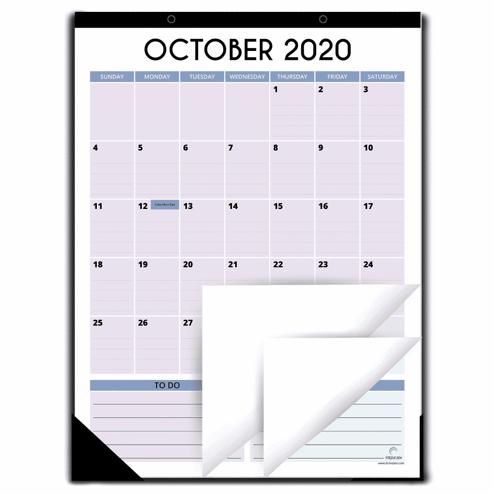 magnetic vertical calendar 2021