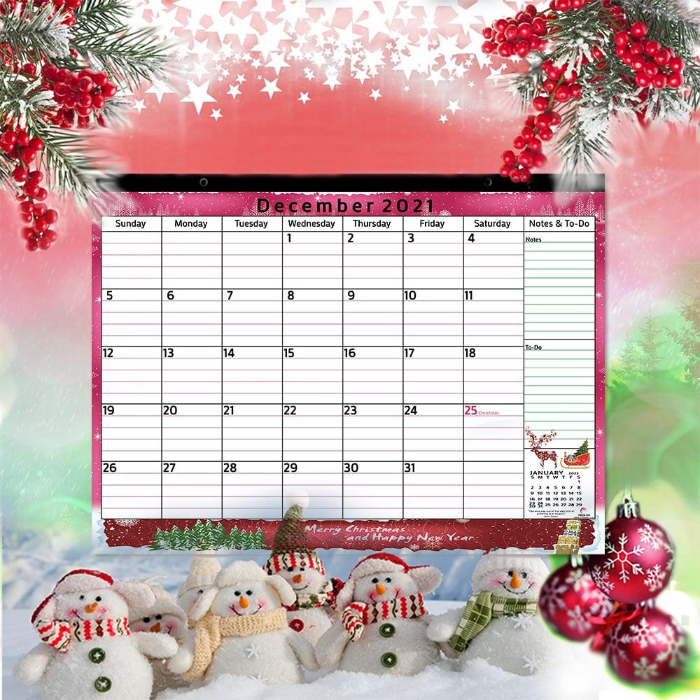 magnetic calendar for refrigerator 2021