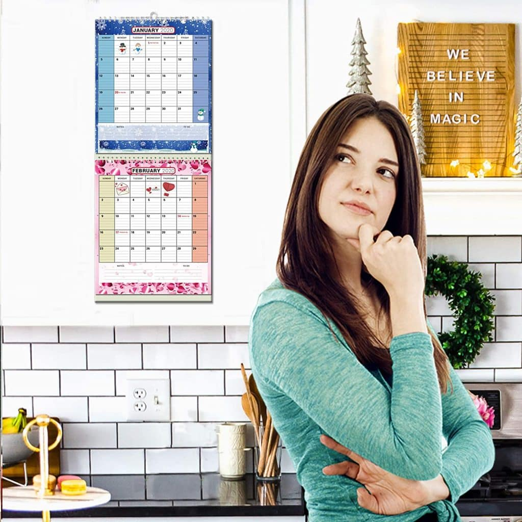 advantage of using a wall calendar