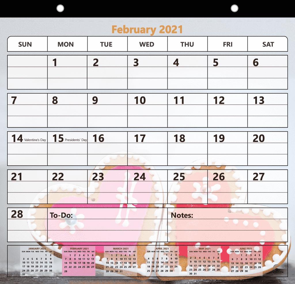 2021 magnetic calendar