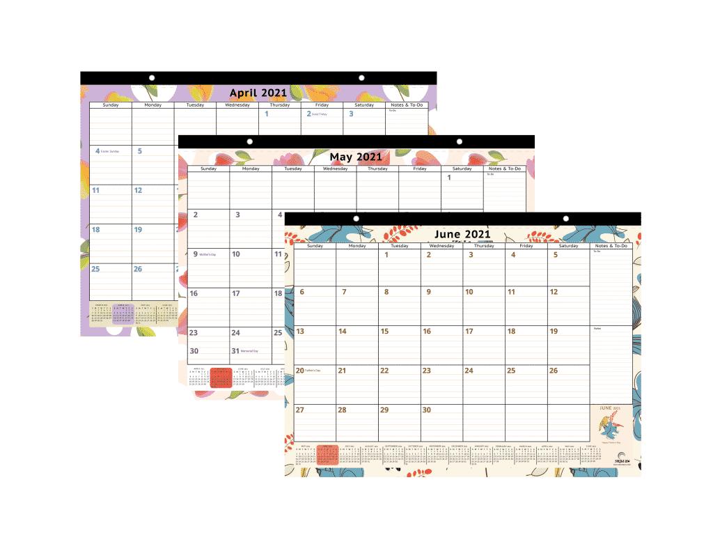 nature inspired calendar