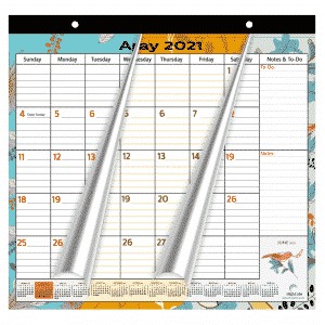 nature themed magnetic calendar that runs from 2021 to 2022