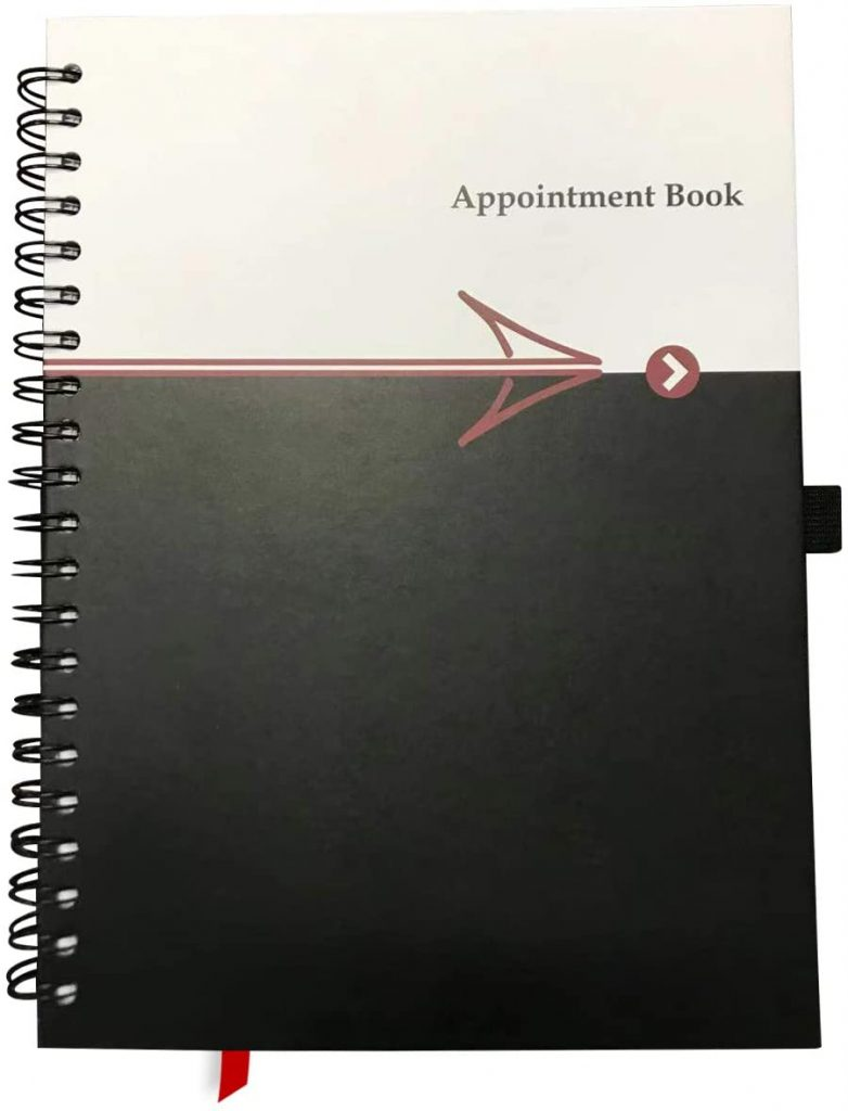 undated appointment book