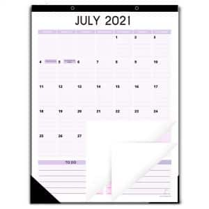 magnetic calendar 2021 to 2022 12 by 16 inches vertical style