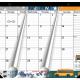 Large Magnetic Calendar For Fridge 2021-2022