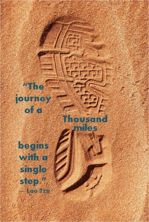 The journey of a thousand miles  quotes
